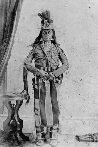 Whitman massacre - A Cayuse tribe member
