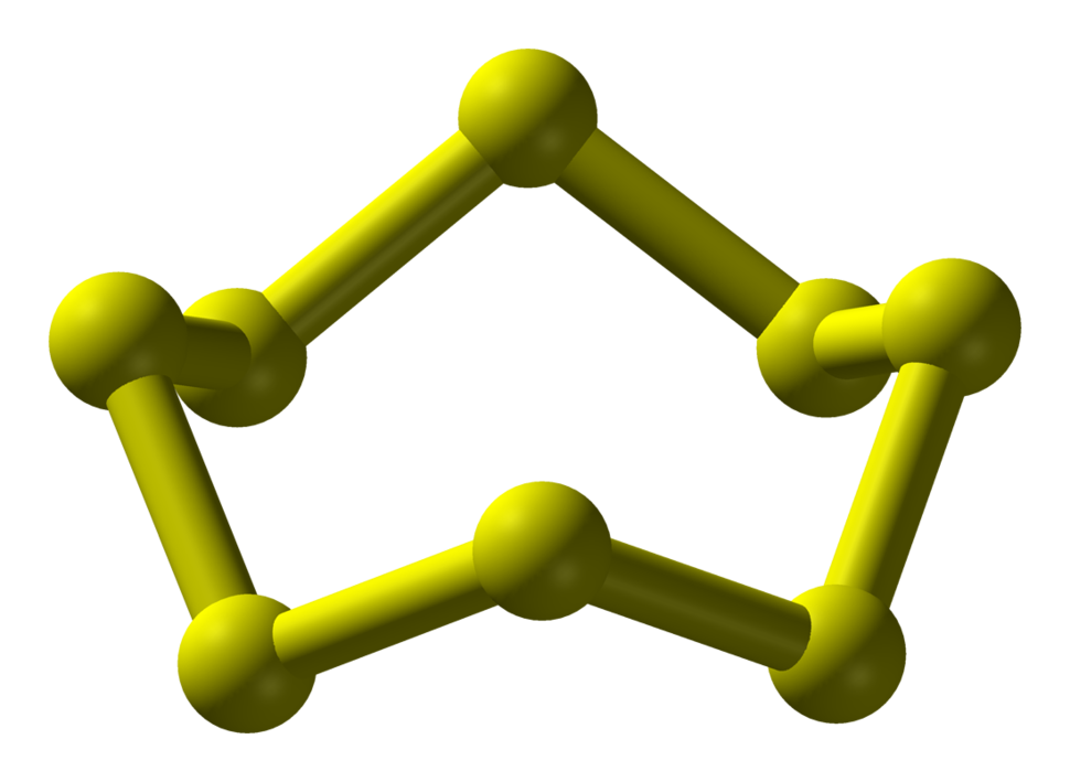 Cyclooctasulfur-above-3D-balls