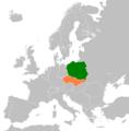Czechoslovakia Poland Locator.png