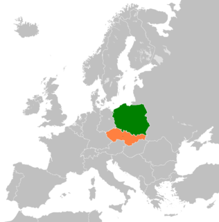 Diplomatic relations between Czechoslovakia and the Republic of Poland