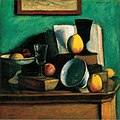 Czigány, Dezső - Still-life with Apples and Plate (1910).jpg