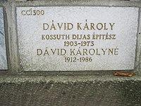 Dávid Károly urnafülkéje.JPG