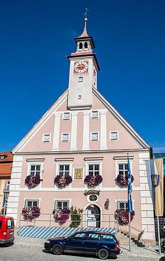 Greding - City Hall of Greding