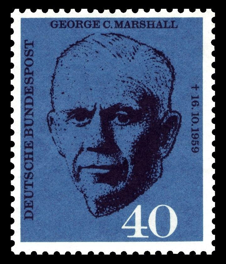DBP 1960 344 George C. Marshall