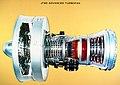 DRAWING OF JT-9D ADVANCED TURBOFAN - NARA - 17447406.jpg