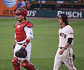 DSC05936 Yadier Molina and Tim Lincecum.jpg