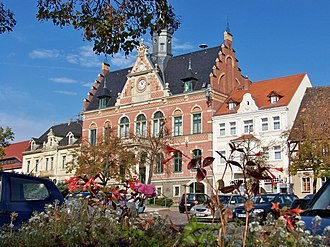 Dahlen, Saxony - Dahlen Town hall