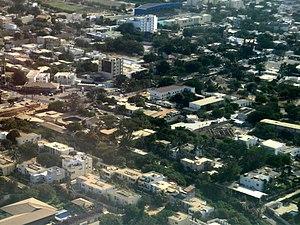 Fann-Point E-Amitié - Image: Dakar Aerial 5