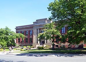 Dalhousie University - The Faculty of Architecture and Planning building is located at Sexton Campus. Sexton was the former campus of the Technical University of Nova Scotia before its merger with Dalhousie in 1997.