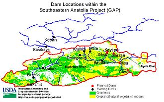 Atatürk Dam - Image: Dams GAP