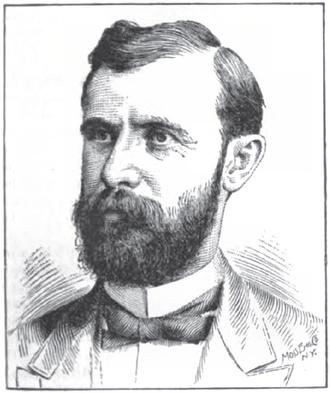 Daniel J. Ryan - Sketch by Henry Howe