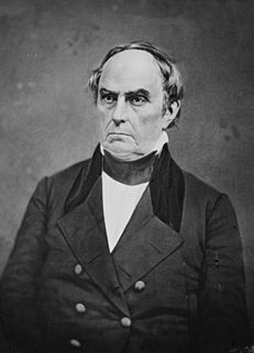 Daniel Webster Leading American senator and statesman, Secretary of State for three US presidents