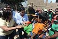 Danmnificado de Jicamarca reciben donación de congresistas de Solidaridad Nacional (6892677790).jpg