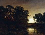Daubigny Landscape with a pond.jpg