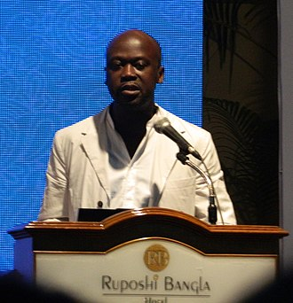 David Adjaye - David Adjaye at CAA Conference, Dhaka, 2013