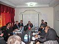 David Carter and Robert O'Brien with members of the Afghan Prosecutors Association and the Justice Sector Support Program in Kabul.jpg