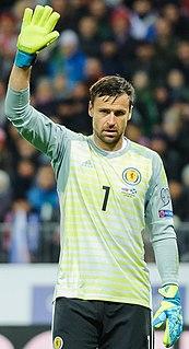 David Marshall (Scottish footballer) Scottish footballer