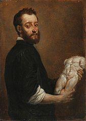 Portrait of a Sculptor (Allesandro Vittoria) (after Giovanni Battista Moroni)