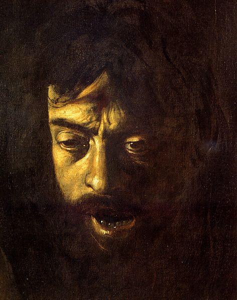 File:Davide con la testa di Golia (particolare).jpg