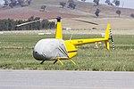Davis Earthmoving & Quarrying (VH-YDL) Robinson R44 Raven II at Wagga Wagga Airport.jpg