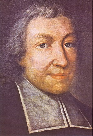Jean-Baptiste de La Salle - Official portrait of St. John Baptist de La Salle by Pierre Leger (date unknown)