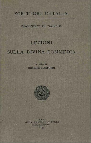 File:De Sanctis, Francesco – Lezioni sulla Divina Commedia, 1955 – BEIC 1801853.pdf
