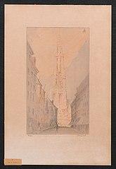 De torens van de kathedraal van Antwerpen