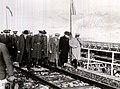 Dej, I. Chişinevschi, după inaugurarea viaductului de la Caracău, vizitează şantierul. (10.11.1946)..jpg