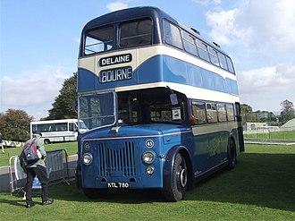 Delaine Buses - Image: Delaine Buses bus 45 Leyland Titan KTL 780 September 2006
