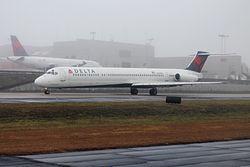 デルタ航空1086便着陸失敗事故
