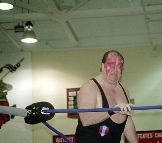 Ax (wrestler) - Demolition Ax in the ring in 2006