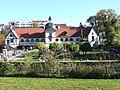 Denkmalnummer A 0233 + B 0012 Dortmund - Wasserschloss Haus Rodenberg - Dortmund-Aplerbeck - Biergarten (gesamt).jpg