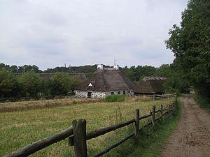 denmark-odense-fynske landsby-scenery