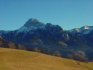 Dent dOche mountain