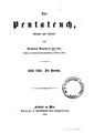 Der Pentateuch, übersetzt und erläutert.pdf