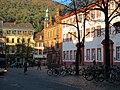 Der Universitätsplatz in Heidelberg an einem Spätherbst Nachmittag.JPG
