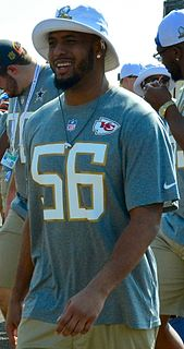 Derrick Johnson American football linebacker