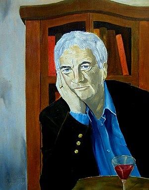 Derry O'Sullivan - Image: Derry O`Sullivan poet 41x 33cm 2002