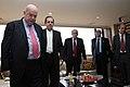 Desayuno de Trabajo del Sr. Canciller Ricardo Patiño con el Sr. Vicepresidente del Ecuador Lenin Moreno y José Miguel Insulza, secretario general de la OEA. (7171241244).jpg