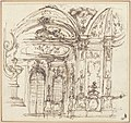 Design for a Stage Set- Highly Decorated Interior of a Palace MET 1971.513.58.jpg