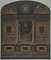 Design for painted wall decoration in the Chateau de Lude, Sarthe MET DP811199.jpg