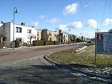Sobborgo Törten a sud di Dessau