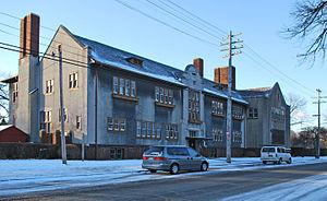 Detroit Waldorf School - Detroit Waldorf School north side, 2015