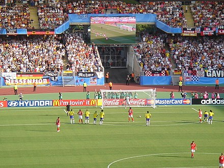 Germany against Brazil in the Frankenstadion in Nuremberg, Germany in the 2005 FIFA Confederations Cup Deutschland - Brasilien (Confed-Cup) 6.JPG