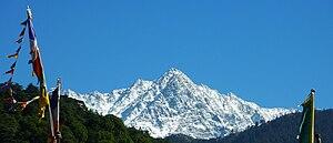 Dhauladhar - Dhauladhar peak from McLeod Ganj.