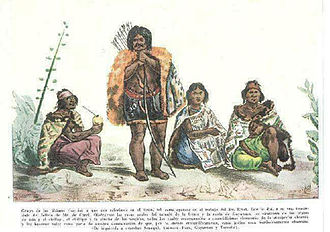 Charrúa - The last Charrúa people in 1833.