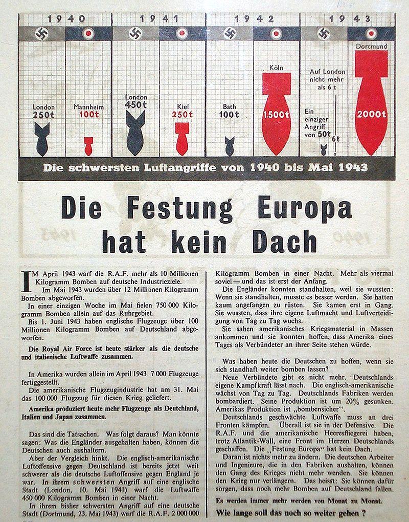 War Leaflet
