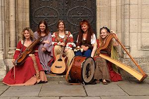 Die Irrlichter - 2009 in Braunschweig Left to right: Stephanie Keup-Büser, Jutta Simon-Alt, Brigitta Jaroschek, Jutta Tiedge, Daniela Heiderich