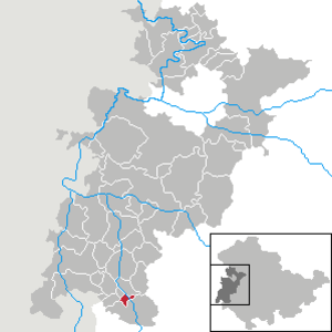 Diedorf, Thuringia - Image: Diedorf in WAK