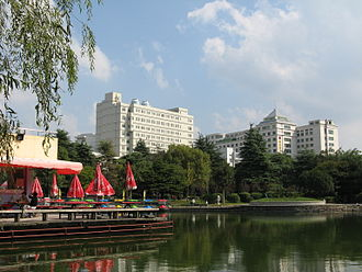 Dinghai District - Dinghai Park, a major recreational and civic place, had been the only urban park in Dinghai for two decades before other parks opened.
